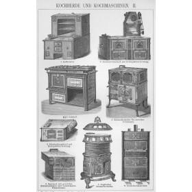 1896 Кухонные плиты Brock