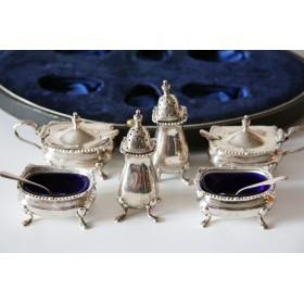 Подарочный антикварный серебряный набор Sanders of Kensington купить в подарок