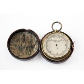 Миниатюрный английский старинный карманный барометр ценителю английски традиций