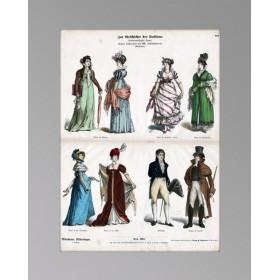 1890 Мода первого десятилетия XIX века Ампир