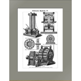 1896 Электрические генераторы переменного тока IV Mey