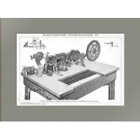 1896 Электрический телеграф IV Прибор Юза