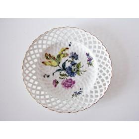 Старинная тарелка Мейсон середины 18 века купить в подарок и для украшения интерьера
