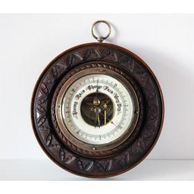 Старинный английский настенный барометр начала 20 века купить в подарок и в интерьер