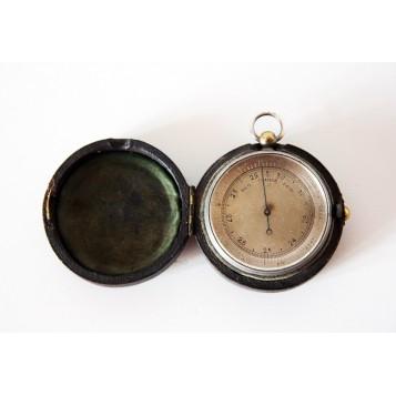 Старинный карманный английский барометр купить в подарок