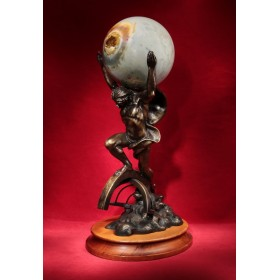 Антикварная бронза статуэтка Orakel