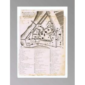 1810 Москва План Кремля