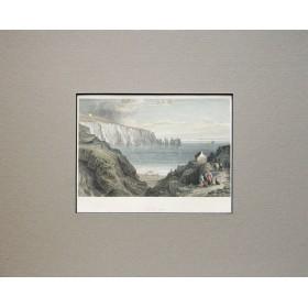 Английский пейзаж гравюра 1