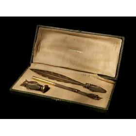Продается эксклюзивный набор для письма Цикада Rene Lalique