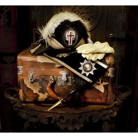 Старинный кофр масонского Рыцаря Скинии XIX века