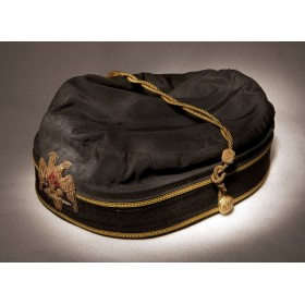 Антикварная шапочка  Верховного Князя Царственной Тайны - 32 градуса