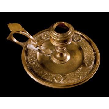 Антикварный подсвечник из бронзы Тиффани Tiffany