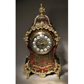 Старинные французские каминные часы в стиле Boulle Буль