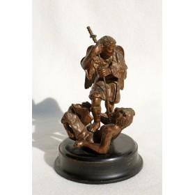 Антикварная статуэтка Bataille des Anges