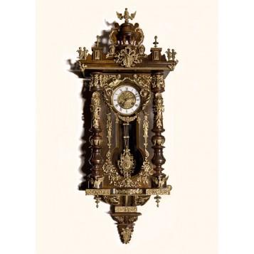 Антикварные настенные часы F.M.S. - экслюзивный подарок