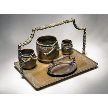 Старинный набор для курения Канат