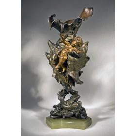 Антикварная ваза Морская раковина