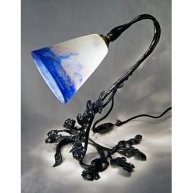 Антикварная  лампа Тюльпан Degue купить в подарок в Москве