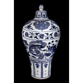 Старинная ваза Kangxi