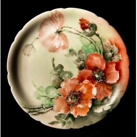 Антикварная тарелка Маки Limoges
