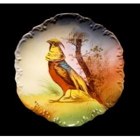 Тарелка Фазан Coronet Limoges