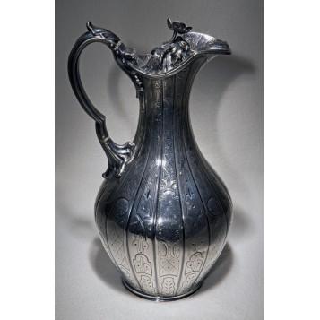 Купить в подарок старинный кувшин для напитков Elkington, антикварная посуда
