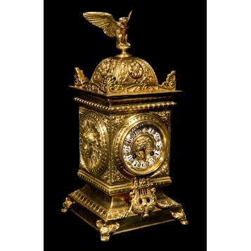 Старинные часы Куб с орлом Эксклюзивный подарок