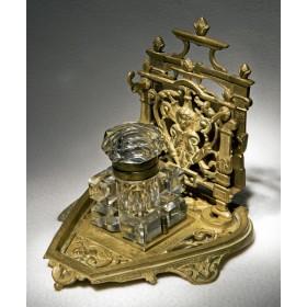 Купить старинный чернильный прибор Наполеон III в подарок