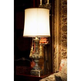 Старинная лампа из антикварной бронзы Marquisс