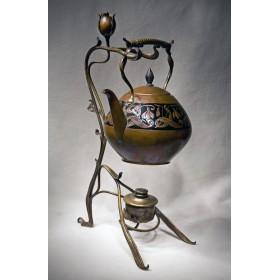 Старинный чайный набор Fleurs.