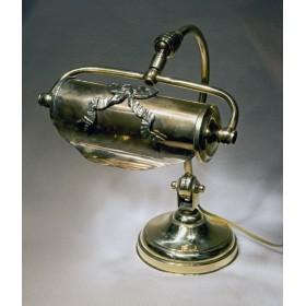 Лампа из старинной бронзы в стиле ампир