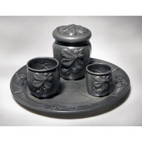 Старинный набор для курения Каштан