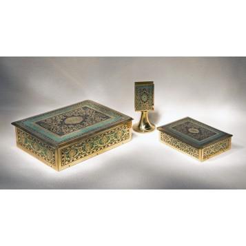 Антикварный набор для курения Персия, старинные вещи в подарок