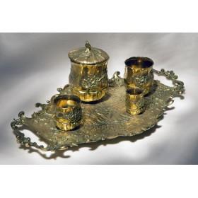 Антикварный курительный набор Versailles