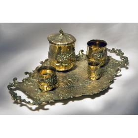 Купить антикварный набор для курения versailles, старинные вещи в подарок