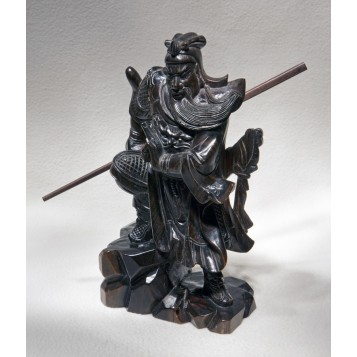 Антикварная статуэтка  Куан-Кунг