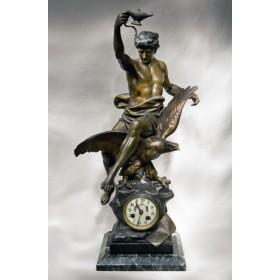 Антикварные часы E. PICAULT, купить старинные часы модерн