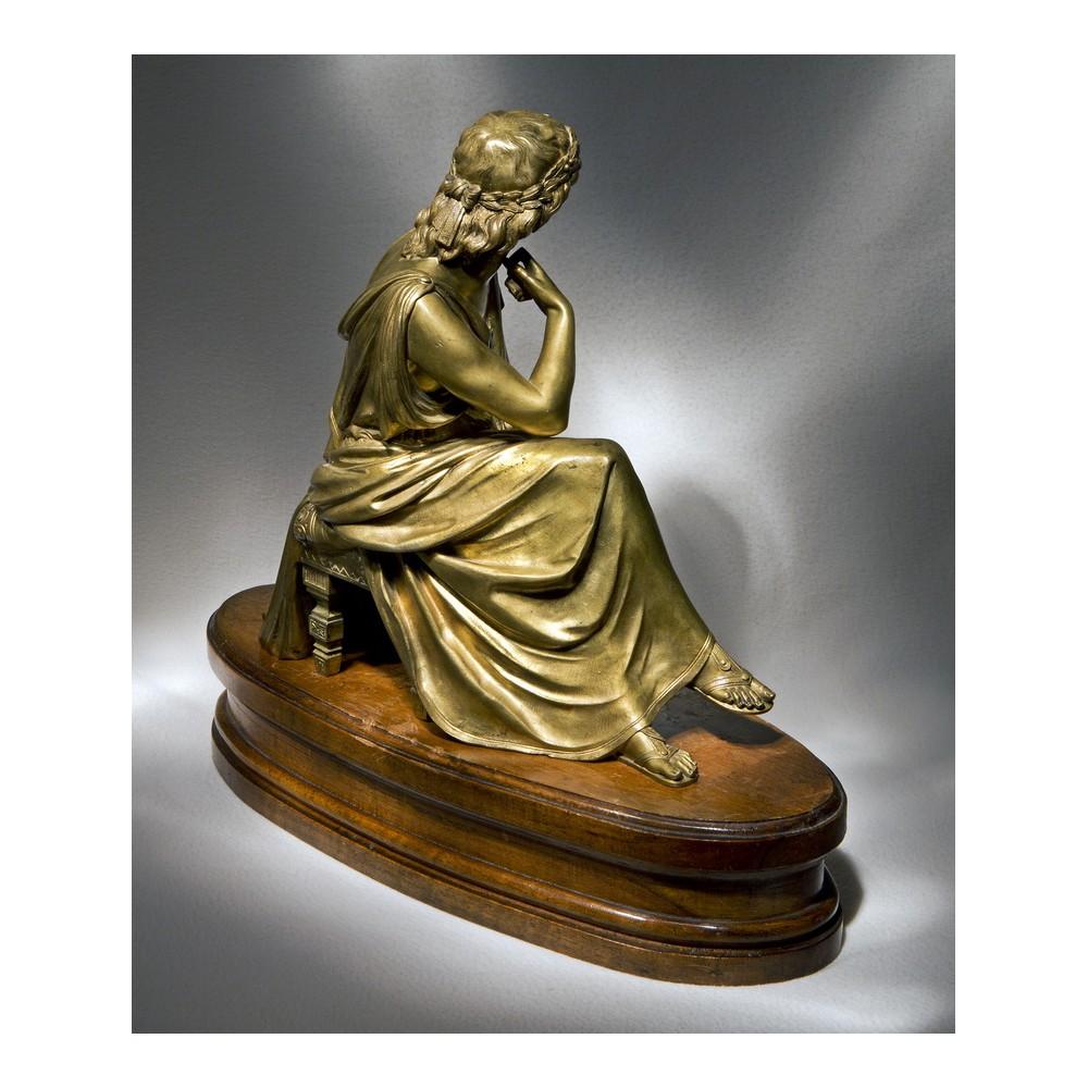 Бронзовые статуэтки антиквариат фото