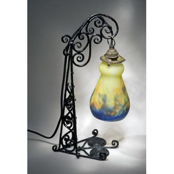Купить антиквариат ар нуво, лампа Модерн Волшебный фонарь