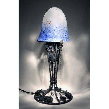 Старинная лампа Boursalt, антиквариат в подарок
