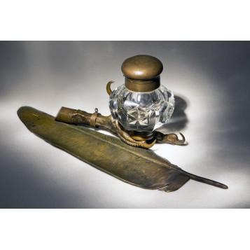 Старинный чернильный прибор ALGIZ, эксклюзивный подарок