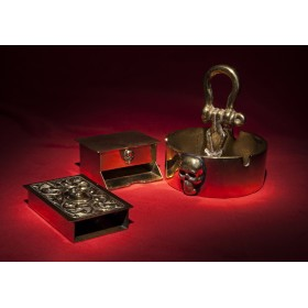 Антикварный набор для курения Totenkopf