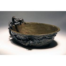 Старинная ритуальная чаша Тибет, восточный антиквариат