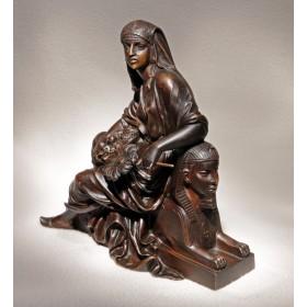 Бронзовая скульптура Hatchepsut, антиквариат со всего мира в Москве