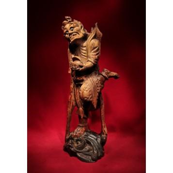 Антикварная статуэтка Шамана Бон.