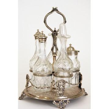 Старинный столовый Судок,Англия  XIX век