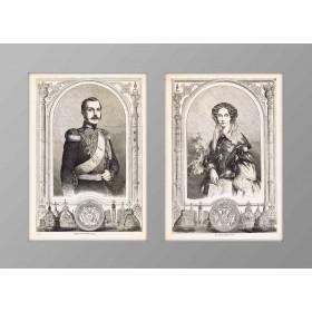 1856 Александр II и Мария Александровна