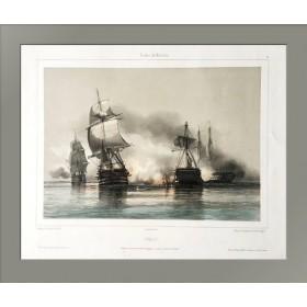 Морская битва, 1844  год.