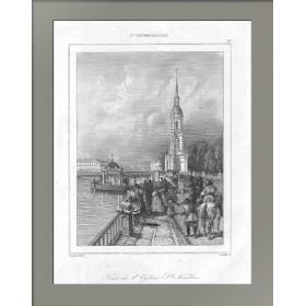 1838 Колокольня Никольского собора