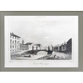 1838 Красный мост через Мойку